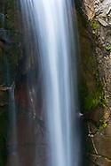 Middle portion of Christine Falls on Van Trump Creek in Mount Rainier National Park, Washington State, USA