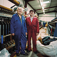 Mill Workers for Harris Tweed from Land to Street Publication
