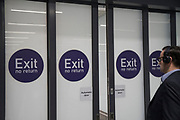 NO Exit No Return<br /><br />London was the only region in England that voted to remain in the EU referendum, but the British public as a whole voted to leave. Banking is just the tip of the iceberg with many other industries also making irrevocable decisions. The damage to the economy from Brexit is already afoot — so much so that the act of leaving the EU itself is, at this point, increasingly irrelevant. Businesses are closing, uncertainty reigns. Brexit is increasingly fraught with uncertainty after the UK's parliament rejected Prime Minister Theresa May's Brexit deal many times.