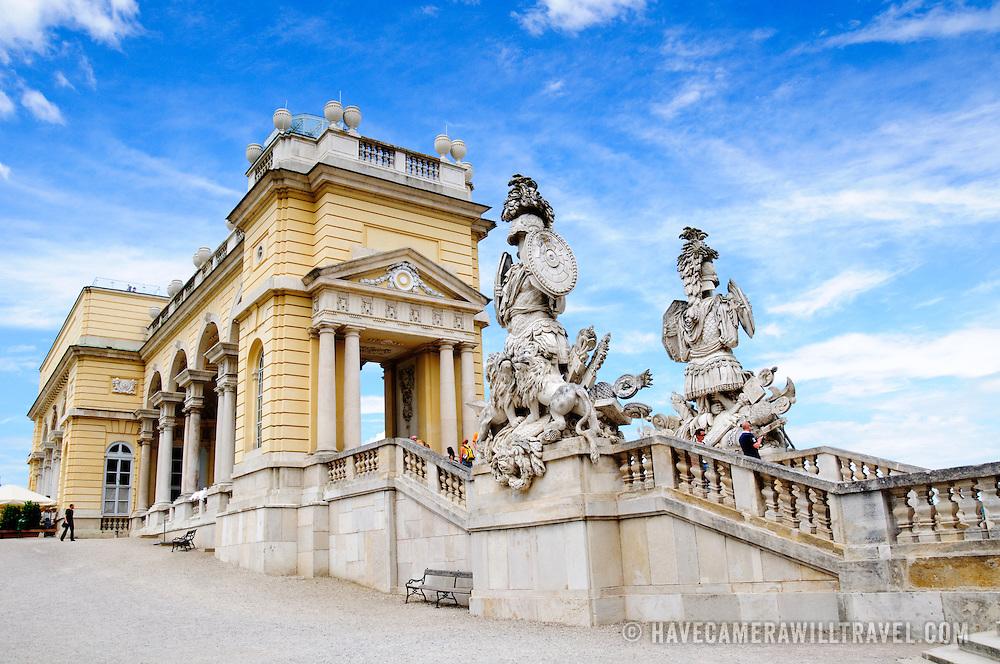 Gloriette at Schonbrunn Palace