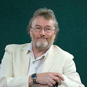 EDINBURGH, SCOTLAND - AUGUST16. Author Iain Banks poses during a portrait session held at Edinburgh Book Festival on August 16, 2006  in Edinburgh, Scotland. (Photo by Marco Secchi/Getty Images)