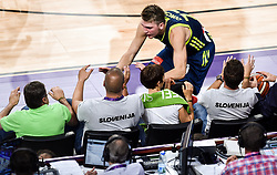 Zoran Jankovic, Matej Erjavec, Maja Makovec Brencic, Luka Doncic of Slovenia  during basketball match between National Teams of Slovenia and Spain at Day 15 in Semifinal of the FIBA EuroBasket 2017 at Sinan Erdem Dome in Istanbul, Turkey on September 14, 2017. Photo by Vid Ponikvar / Sportida