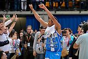 DESCRIZIONE : Final Eight Coppa Italia 2015 Finale Olimpia EA7 Emporio Armani Milano - Dinamo Banco di Sardegna Sassari<br /> GIOCATORE : Jeff Brooks<br /> CATEGORIA : esultanza post game post game<br /> SQUADRA : Banco di Sardegna Sassari<br /> EVENTO : Final Eight Coppa Italia 2015<br /> GARA : Olimpia EA7 Emporio Armani Milano - Dinamo Banco di Sardegna Sassari<br /> DATA : 22/02/2015<br /> SPORT : Pallacanestro <br /> AUTORE : Agenzia Ciamillo-Castoria/Max.Ceretti