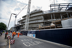 General view of building works at the new Tottenham Hotspur stadium next to White Hart Lane, London. PRESS ASSOCIATION Photo. Picture date: Thursday May 11 2017. Photo credit should read: Steven Paston/PA Wire