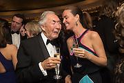 SIR ROBERT OGDEN; LADY OGDEN, Cartier 25th Racing Awards, the Dorchester. Park Lane, London. 10 November 2015