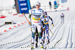 March 10, 2019 - Oslo, NORWAY - 190310 Evelina Settlin of Sweden looks dejected after the women's 30 km classic technique mass start during the FIS World Cup on March 10, 2019 in Oslo..Photo: Jon Olav Nesvold / BILDBYRÃ…N / kod JE / 160424 (Credit Image: © Jon Olav Nesvold/Bildbyran via ZUMA Press)