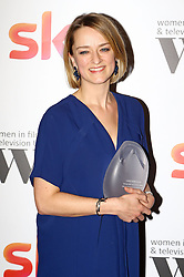 Laura Kuenssberg received the BBC News and factual award at the Women in Film & TV Awards at the Hilton hotel in central London.