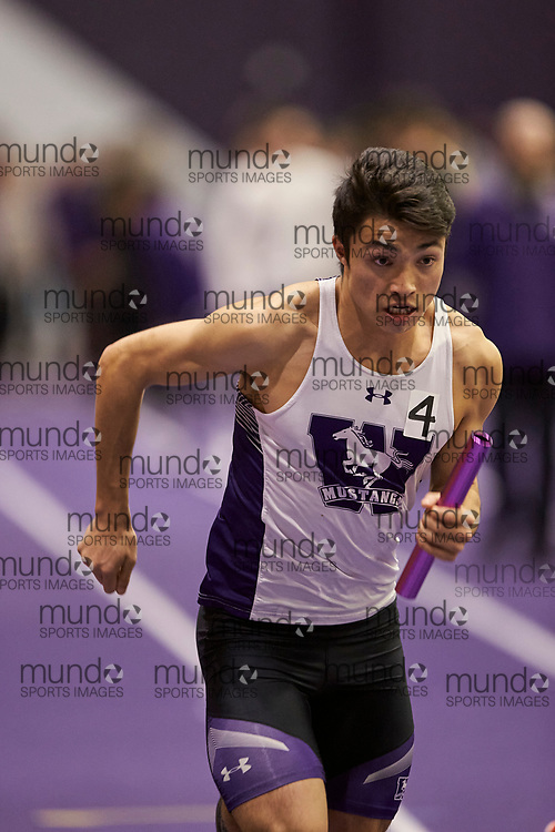 2020 Don Wright Meet at Western University in London, Ontario on January 18, 2020.