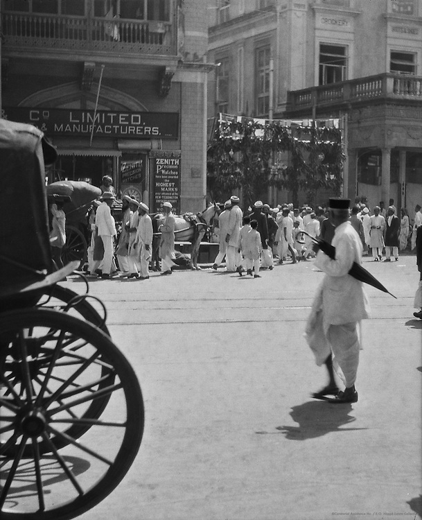 Street Scene, Bombay, India, 1929