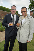 LAURENT LACASSAGNE, VADIM GRIGORIAN  Perdurity: A Moving Banquet of Time. Royal Salute curates a timeless evening at Hampton Court Palace with Marcos Lutyens, 2 June 2015.