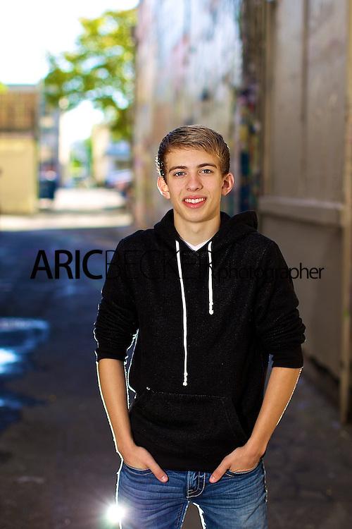 Senior Portrait Photography with Austin