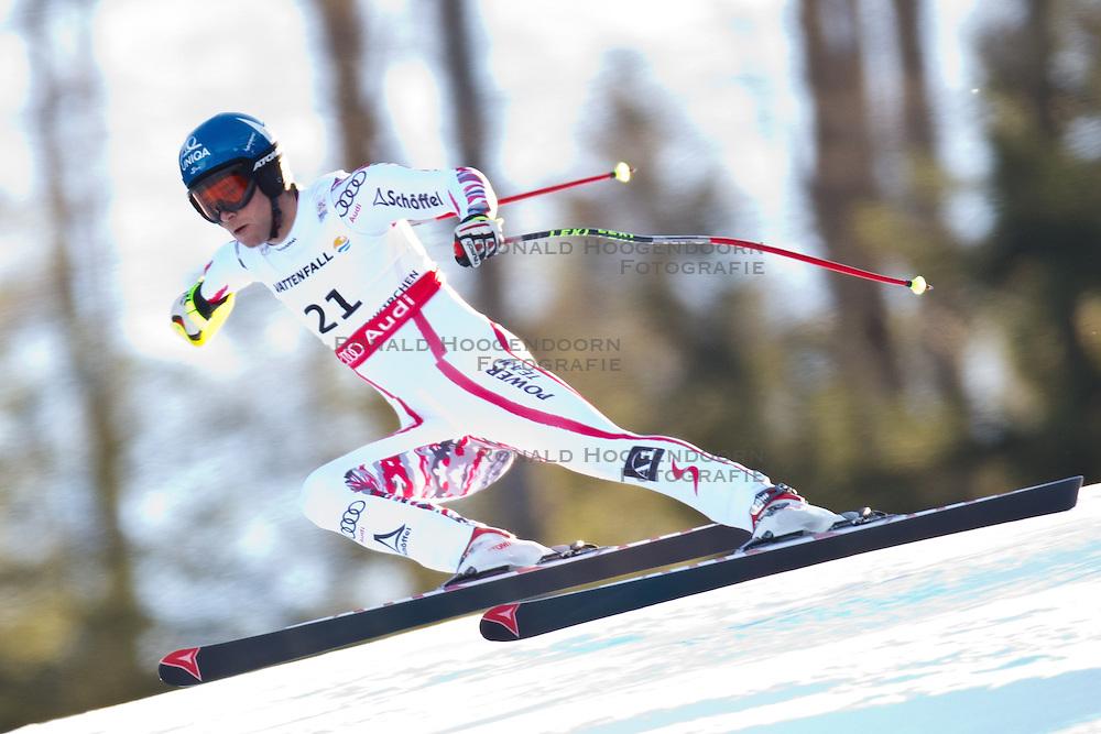 09-02-2011 SKIEN: FIS ALPINE WORLD CHAMPIONSSHIP: GARMISCH PARTENKIRCHEN<br /> Benjamin Raich (AUT) during Men Super G, Fis Alpine Ski World Championships<br /> **NETHERLANDS ONLY**<br /> ©2011-WWW.FOTOHOOGENDOORN.NL/EXPA/ J. Groder