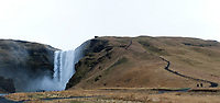 Skogafoss  - waterfall. ©2019 Karen Bobotas Photographer