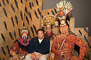 Muhammad Ali meets cast of National tour of Lion King at ASU Gammage