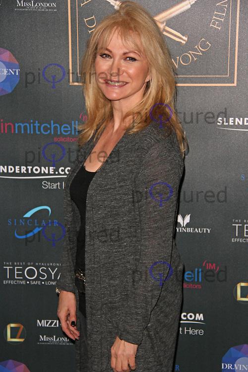 Debbie Arnold, Life Is Beauty-Full - UK Film Premiere, Bulgari Hotel, London UK, 28 January 2015, Photo By Brett D. Cove