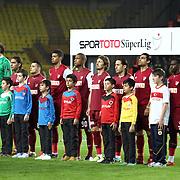 SB Elazigspor's players during their Turkish Superleague soccer match Fenerbahce between SB Elazigspor at the Sukru Saracaoglu stadium in Istanbul Turkey on Sunday 20 January 2013. Photo by Aykut AKICI/TURKPIX