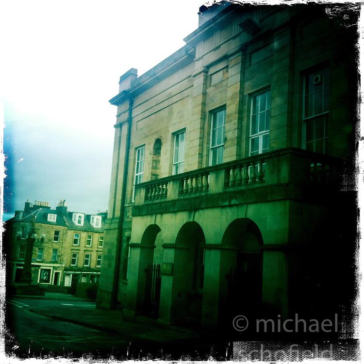 Jedburgh, Scottish Borders..Hipstamatic images taken on an Apple iPhone..©Michael Schofield.
