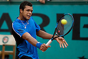 Paris, France. May 28th 2009. .Roland Garros - Tennis French Open. 2nd Round..French player Jo Wilfried Tsonga against Juan Monaco