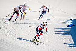March 16, 2018 - Falun, SVERIGE - 180316 Marit BjÂ¿rgen, Norge, tÅvlar i semifinalen i sprint under Svenska Skidspelen den 16 mars 2018 i Falun  (Credit Image: © Simon HastegRd/Bildbyran via ZUMA Press)