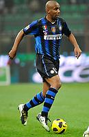Maicon (Inter) <br /> Inter Bologna - Campionato di Seire A Tim 2010-2011<br /> Stadio Giuseppe Meazza, San Siro, Milano, 15/01/2011<br /> © Giorgio Perottino / Insidefoto