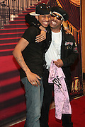 May 18, 2012 -New York, NY-United States: Recording Hip Hop Legend/Artist Kangol Kid and son attend the Lil' Kim concert as part of her ' Return of the Queen Tour ' held at Paradise Theater on May 18, 2012 in the Bronx, NY. Consistently recognized as a trailblazing Female MC, Lil'Kim has been a member of the clic, Junior MAFIA, headed by the late Notorious B.I.G. and has released 3 RIAA certified platinum albums to date. (Photo by Terrence Jennings)