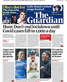 February 05, 2021 (UK): Front-page: Today's Newspapers In United Kingdom