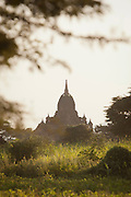 A temple in the ancient city of Bagan, Myanmar
