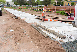Boathouse at Canal Dock Phase II | State Project #92-570/92-674 Construction Progress Photo Documentation No. 11 on 23 May 2017. Image No. 10 Sidewalk Work
