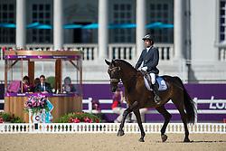 Dresler Yonatan (ISR) - Ubelisk<br /> Team Test - Grade III - Dressage <br /> London 2012 Paralympic Games<br /> © Hippo Foto - Jon Stroud