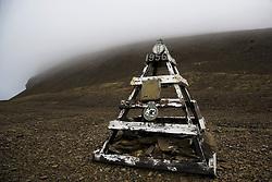 July 21, 2019 - Sir John Franklin Expedition Memorial Marker, Beechy Island, Nunavut, Canada (Credit Image: © Richard Wear/Design Pics via ZUMA Wire)