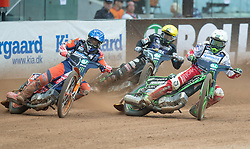 May 12, 2018 - Warsaw, Poland - Emil Sayfutdinov (RUS), Tai Woffinden (GBR), Patryk Dudek (POL) during 1st round of Speedway World Championships Grand Prix Poland in Warsaw, Poland, on 12 May 2018. (Credit Image: © Foto Olimpik/NurPhoto via ZUMA Press)