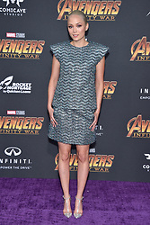 Pom Klementieff attends the World Premiere of Avengers: Infinity War on April 23, 2018 in Los Angeles, California. Photo by Lionel Hahn/ABACAPRESS.COM