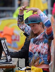 20150621 NED: Wildcard WK Beachvolleybal, Amstelveen<br /> In Amstelveen werd er voor de laatste ticket voor het WK gestreden / Nienke de Waard