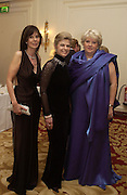 Jenny Hallan-Peel, Viscountess Bearsted and Mrs. Jonathan Woodall. Bulgari/NSPCC Snow Ball, Mandarin Oriental. 11 December 2002. © Copyright Photograph by Dafydd Jones 66 Stockwell Park Rd. London SW9 0DA Tel 020 7733 0108 www.dafjones.com