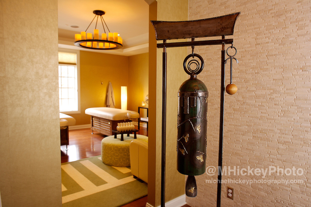 Home spa interior photos for Indianapolis Woman Magazine package. Photo by Michael Hickey