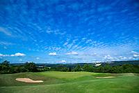 WISSMANNSDORF  - Duitsland - hole 16  Golf-Resort Bitburger Land. COPYRIGHT KOEN SUYK