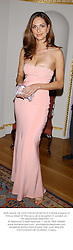 MISS TASHA DE VASCONCELOS MOTA E CUNHA a friend of Prince Albert of Monaco, at a reception in London on 17th September 2002.	PDH 131