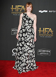 The 21st Annual Hollywood Film Awards at The Beverly Hilton Hotel in Beverly Hills, California on 11/5/17. 05 Nov 2017 Pictured: Bryce Dallas Howard. Photo credit: River / MEGA TheMegaAgency.com +1 888 505 6342