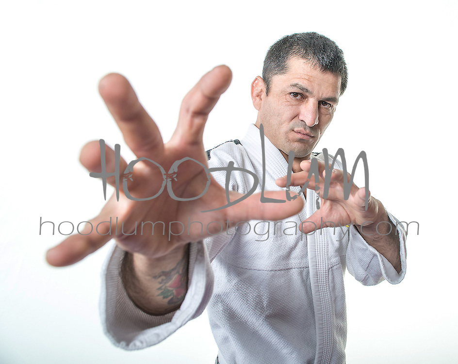 "Portrait of MMA Fighter/Ju Jitsu 2nd Degree Black belt Henry ""The Don"" Matamoros"