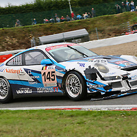 #145 Porsche 997 GT3 Cup S, First Motorsport (drivers:  François Duval, Christian Kelders, Philippe Greich, Christophe Kerkhove) at Spa 24H on 3 August 2008