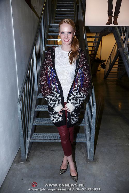 NLD/Amsterdam/20131113 - VIP avond bij Isabel Marant pour H&M, Cicely Telman