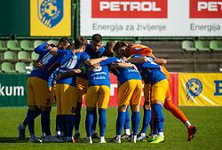 Players of Celje during football match between NK Bravo and NK Celje in 13th Round of Prva liga Telekom Slovenije 2019/20, on October 5, 2019 in ZAK stadium, Ljubljana, Slovenia. Photo by Vid Ponikvar / Sportida