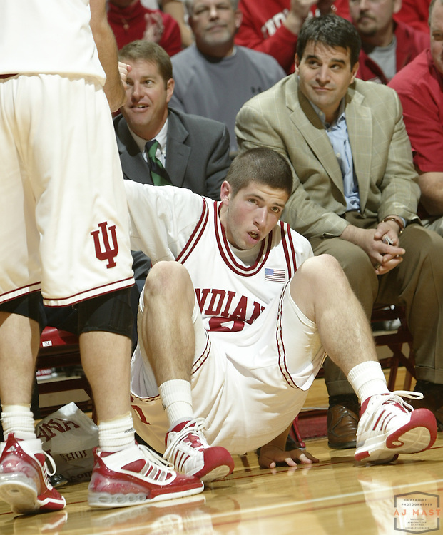 18 November 2008: Indiana guard Matt Roth (2) as the Indiana Hoosiers played the IUPUI Jaguars in a college basketball game in Bloomington, Ind.