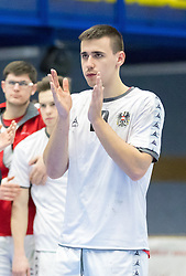 07.01.2017, BSFZ Suedstadt, Maria Enzersdorf, AUT, IHF Junior WM 2017 Qualifikation, Österreich vs Tschechische Republik, im Bild Marin Martinovic (AUT) // during the IHF Men's Junior World Championships qualifying match between Austria and Czech Republic at the BSFZ Suedstadt, Maria Enzersdorf, Austria on 2017/01/07, EXPA Pictures © 2017, PhotoCredit: EXPA/ Sebastian Pucher