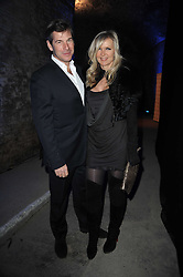 AMANDA WAKELEY and HUGH MORRISON at the launch of 2 collections by jeweller Stephen Webster - ÔThe 7 Deadly SinsÕ and ÔNo RegretsÕ held at The Old Vics Tunnels, Under Waterloo Station, Off Leake Street, London SE1 on 8th December 2010.<br /> AMANDA WAKELEY and HUGH MORRISON at the launch of 2 collections by jeweller Stephen Webster - 'The 7 Deadly Sins' and 'No Regrets' held at The Old Vics Tunnels, Under Waterloo Station, Off Leake Street, London SE1 on 8th December 2010.
