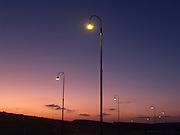 Israel, Negev Desert Mitzpe Ramon Sunset