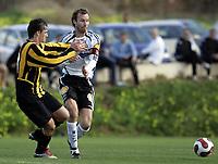Fotball / Football<br /> La Manga Cup 2007 - Spain<br /> 23.02.2007<br /> Rosenborg v KR Reykjavik Island 1-0<br /> Foto: Morten Olsen, Digitalsport<br /> <br /> Christer Basma - RBK