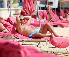 Retired Scottish football player and manager Graeme Souness is pictured on holiday - 9 June 2018