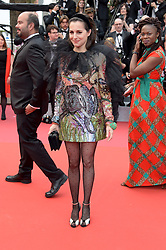 Amira Casar attending the opening ceremony and premiere of The Dead Don't Die, during the 72nd Cannes Film Festival.