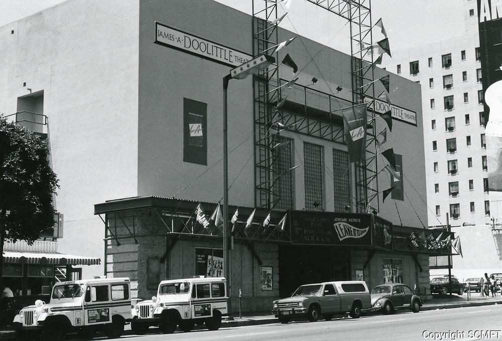 1987 James Doolittle Theater on Vine St.